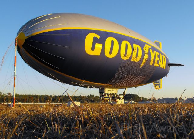 Unknown/Generic Airship (N2A) - The Spirit of Innovation in Tallahassee for the Florida State vs. Florida football game. This Goodyear Blimp is based in Pompano Beach, FL.
