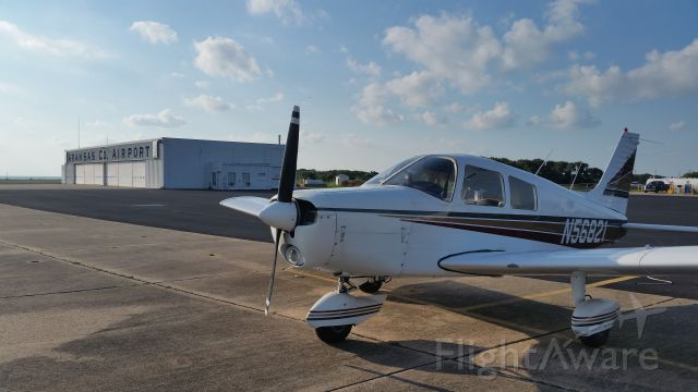 Piper Cherokee (N56821) - Parked at Rockport, TX