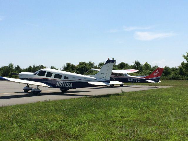 Piper Saratoga (N911SA) - NC wing Civil Air Patrol HQ at KBUY