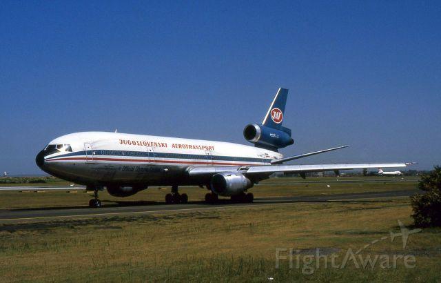 McDonnell Douglas DC-10 (YU-AMB) - Dc10-30 YU-AMB of JAT at Sydney Airport 1983