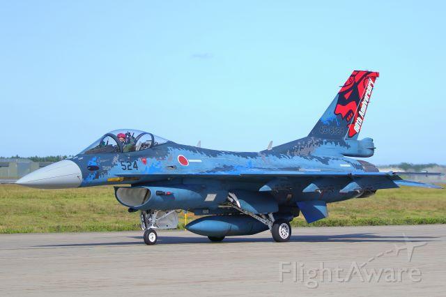 Mitsubishi F-2 (43-8524) - japan self defence foce (MISAWA AIR BASE)