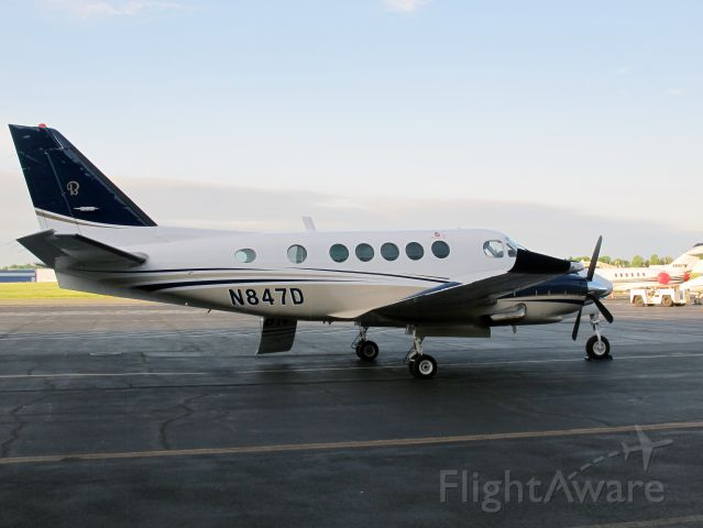 Cessna Skylane (N847D) - This fine King Air B100 is available for charter in the Northeast from CFM Corporate Flight Management.