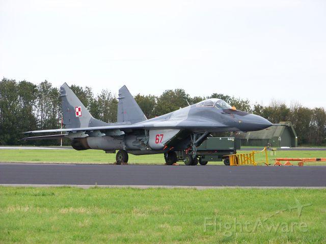 — — - MiG 29 from Poland at