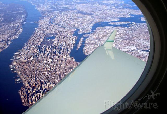 Gulfstream Aerospace Gulfstream V — - G-V leaving New York city,