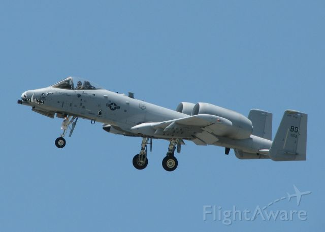 Fairchild-Republic Thunderbolt 2 (79-0153) - One of two A-10s doing touch and goes at Barksdale Air Force Base.