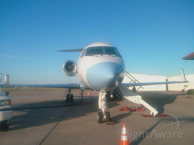 Gulfstream Aerospace Gulfstream IV (N236MJ) - Nose of Michael Jordan