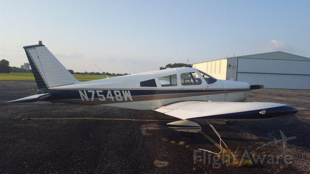 Piper Cherokee (N7548W)