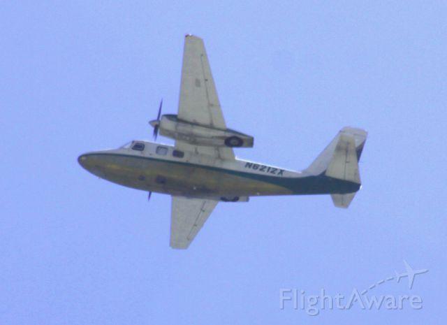N6212X — - In pattern over KSJC @ Coleman and Martin Avenue, San Jose, Ca  (1963 Aero Commander 500-B C/N 500B-1102-63)