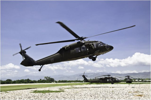 AWERMY070 — - US Army Black Hawk Tail 070  by Alexandre Sanchez