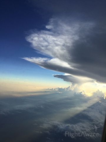McDonnell Douglas MD-88 — - Avoiding storms last night from Atlanta to Savannah....Smooth air from our pilot.