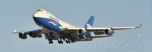 BOEING 747-8 (N50281) - Just to clarify I did not take this photo.