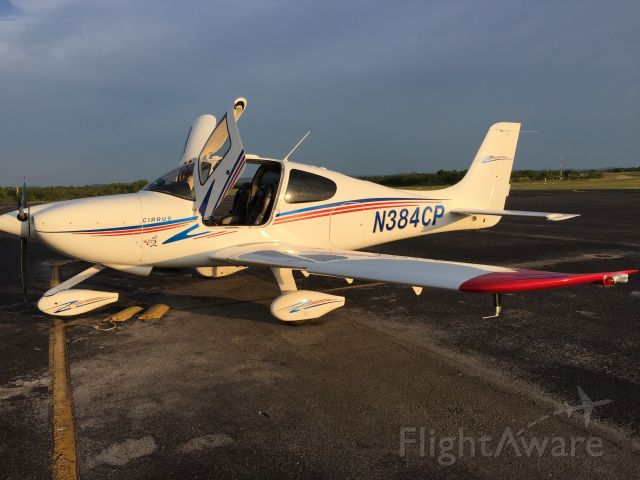 Cirrus SR-20 (N384CP) - Arrived in Llano and off to get BBQ!