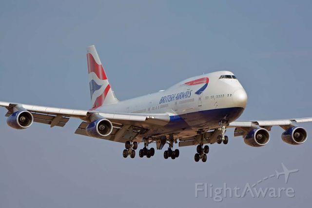 Boeing 747-400 (G-BYGE) - British Airways Boeing 747-436 G-BYGE at Phoenix Sky Harbor on August 8, 2018.