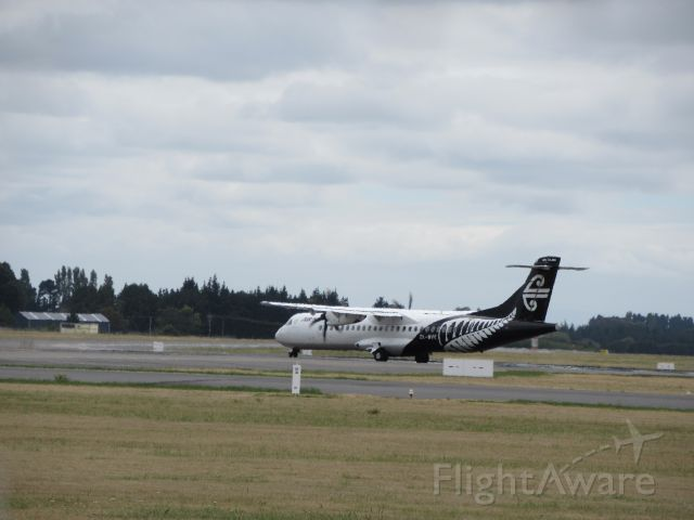 Aerospatiale ATR-72-600 (ZK-MVC) - At Gates.