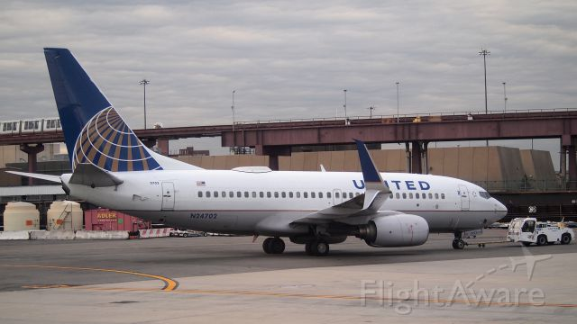 Boeing 737-700 (N24702) - This is the first 737-700 I