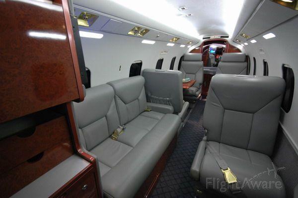 N500BJ — - Westwind I Custom flat sidewall interior July 2008