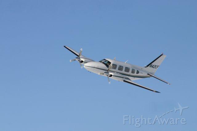 Piper Navajo (N42CF) - Bakken Air