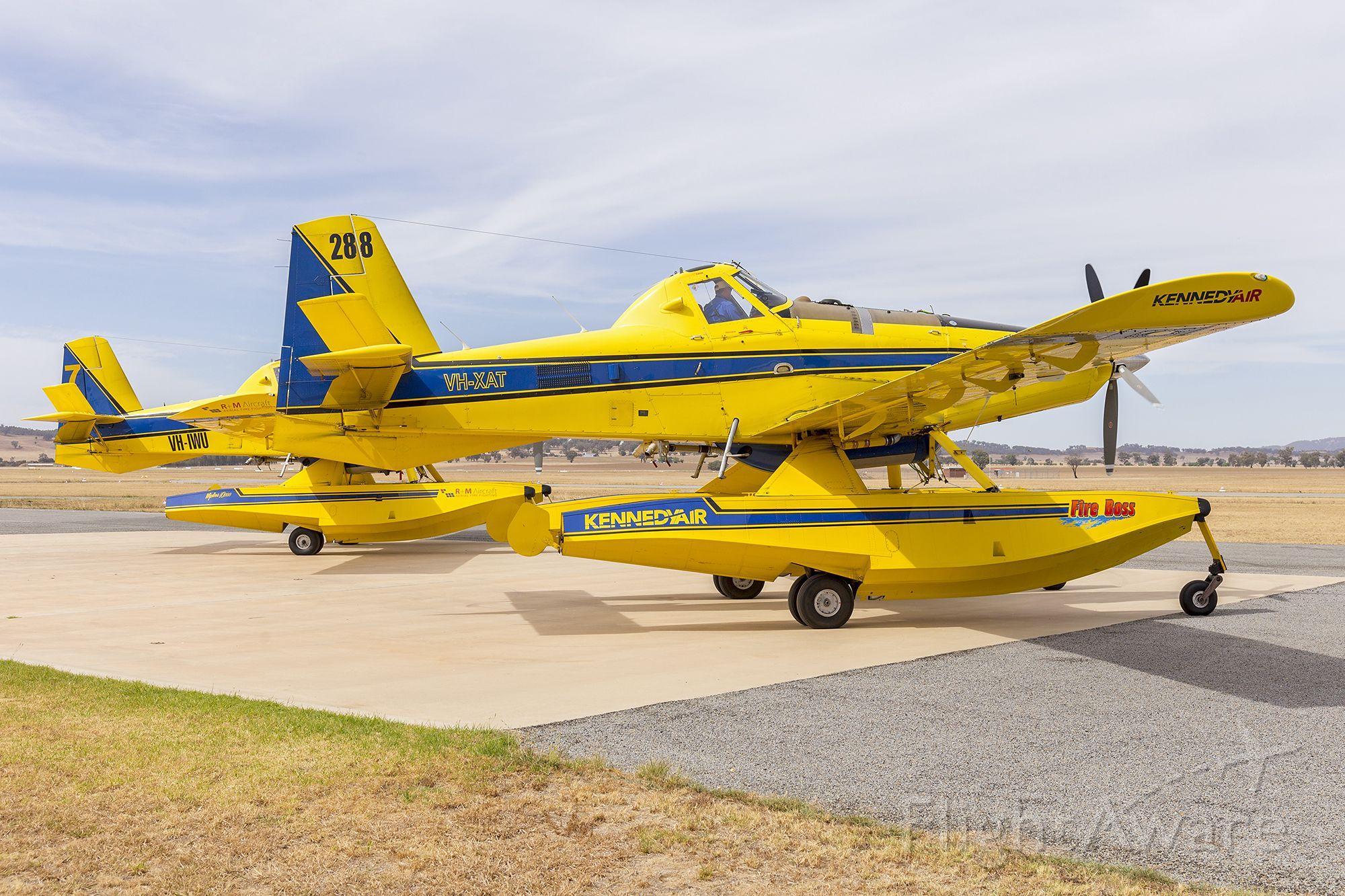 AIR TRACTOR Fire Boss (VH-XAT) - Kennedy Aviation (VH-XAT) Air Tractor AT802F Fire Boss at Wagga Wagga Airport.