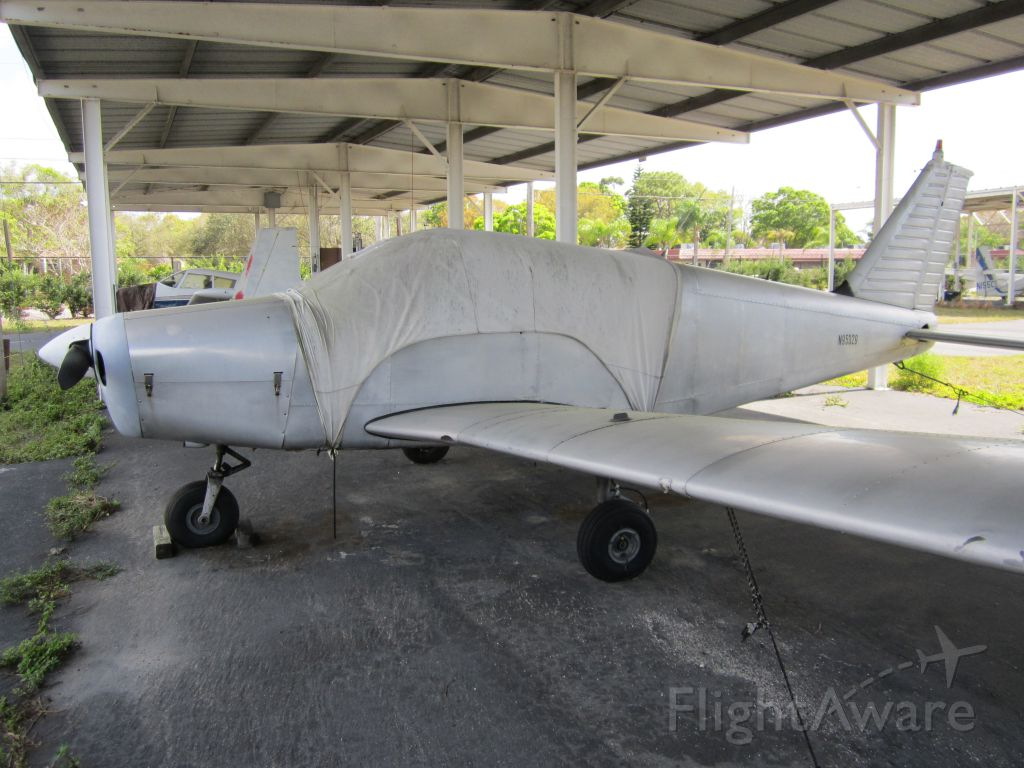 Piper Cherokee (N95329) - CLEARWATER AIRPARK, CLEARWATER, FL, USA  02.22.2013