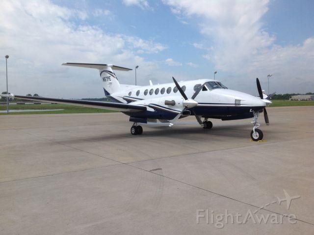 Beechcraft Super King Air 350 (N57PE) - Ready to head home.
