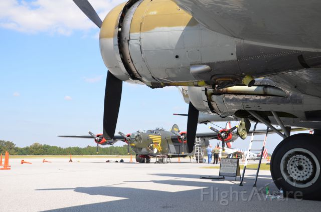— — - Collings Foundation B-24J and B-17G at Sumter Airport SC 27 Oct 2011
