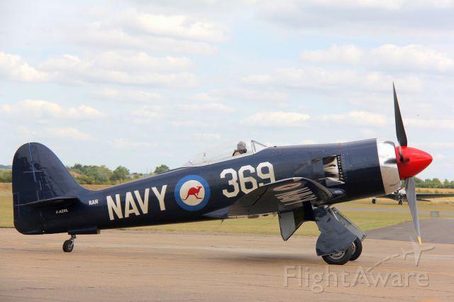 F-AZXL — - Hawker Fury BF.11br /Manufactured in 1948, UKbr /Photo: 11.07.2015