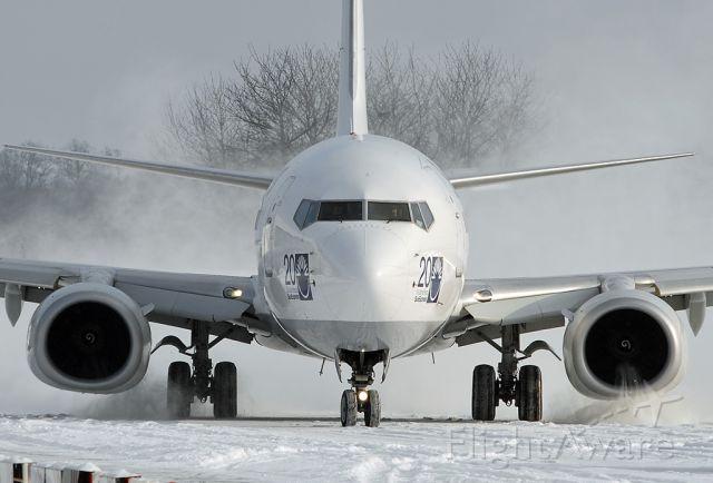 Boeing 737-700 (TC-SNG) - Snow intake