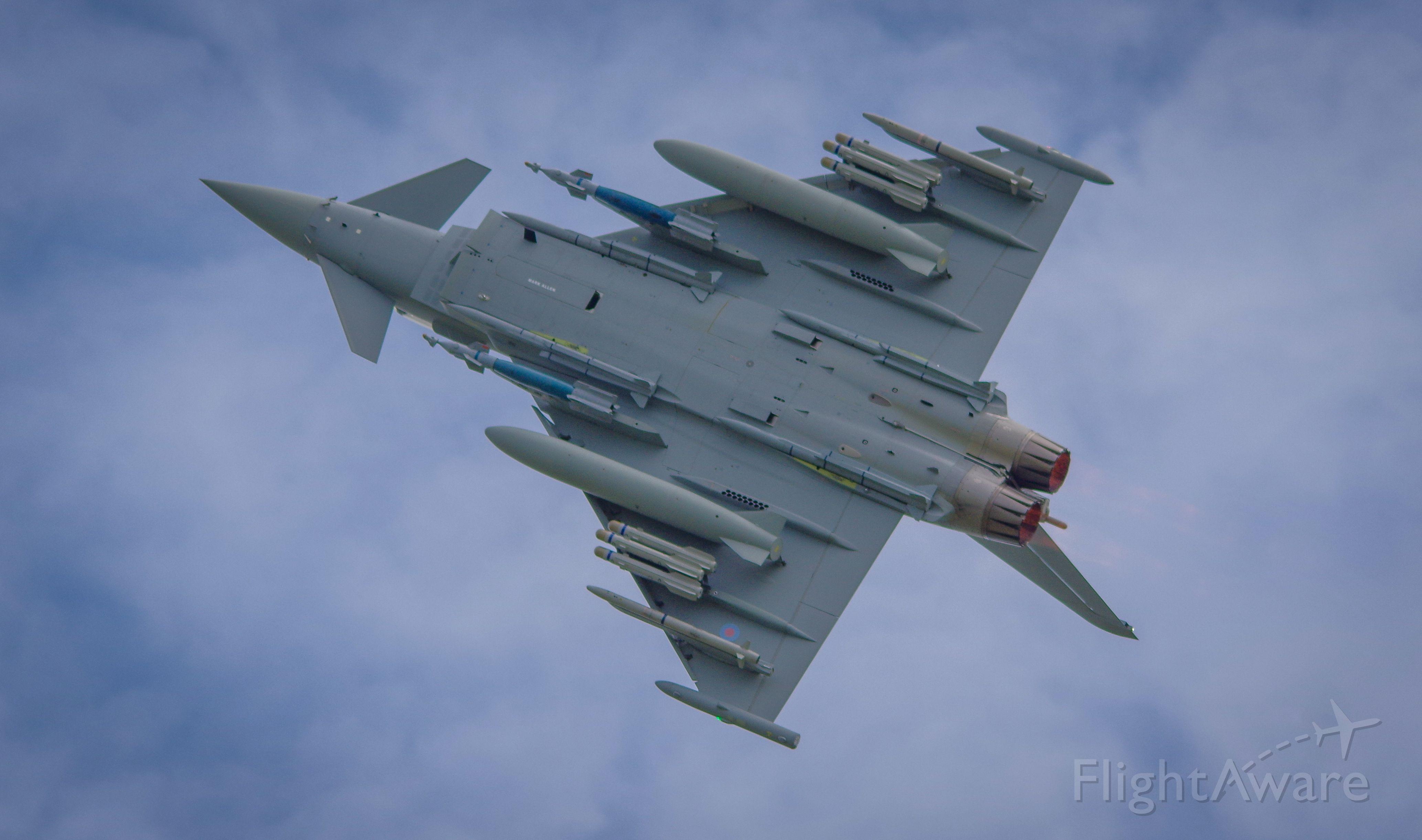 — — - International Air Tattoo 2016 Fairford<br />Typhoon RAF