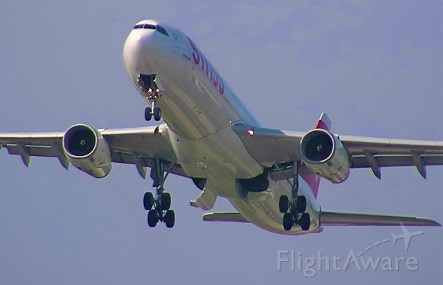 Airbus A330-300 — - A330-300 taking off from Zurich