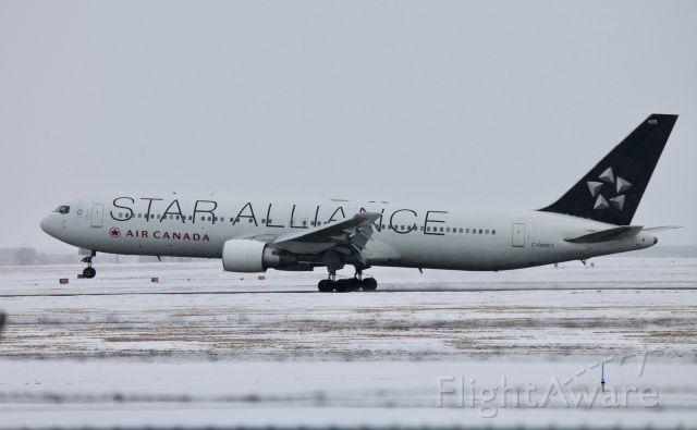 BOEING 767-300 (C-FMWY) - Star Alliance Livery