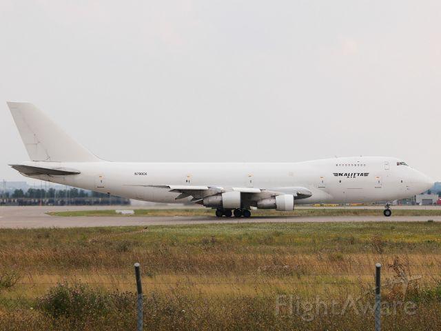 Boeing 747-200 (N790CK) - Kalitta N790CK ready for take off at LEJ