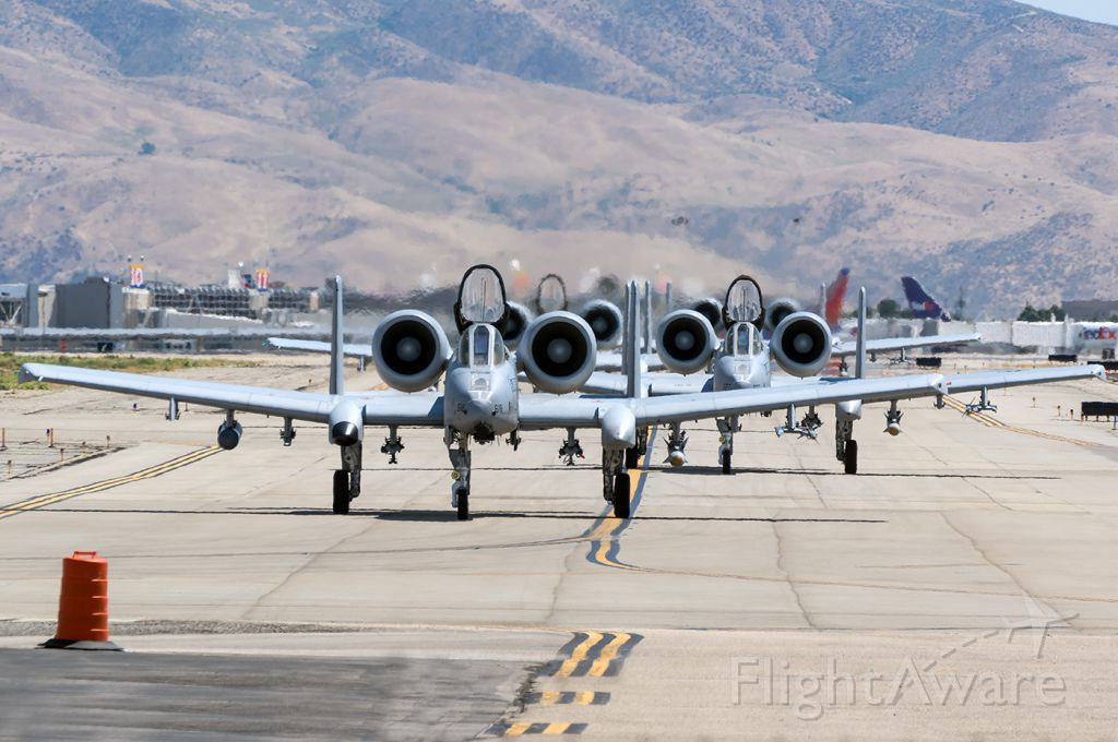 Fairchild-Republic Thunderbolt 2 (78-0618) - Not One, not Two, not Three, but Four A-10s in a Hawgephant Walk. Full quality photo --> a rel=nofollow href=http://www.jetphotos.com/photo/8675918https://www.jetphotos.com/photo/8675918/a