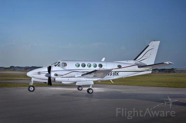 Beechcraft King Air 100 (N91RK) - Atlantic Air Charter - N91RK (Exterior)