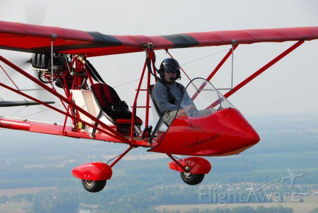AUSTFLIGHT Drifter — - Air to Air photo of a Drifter over Huntsville, AL  Photo copyright: BlakeMathis.com