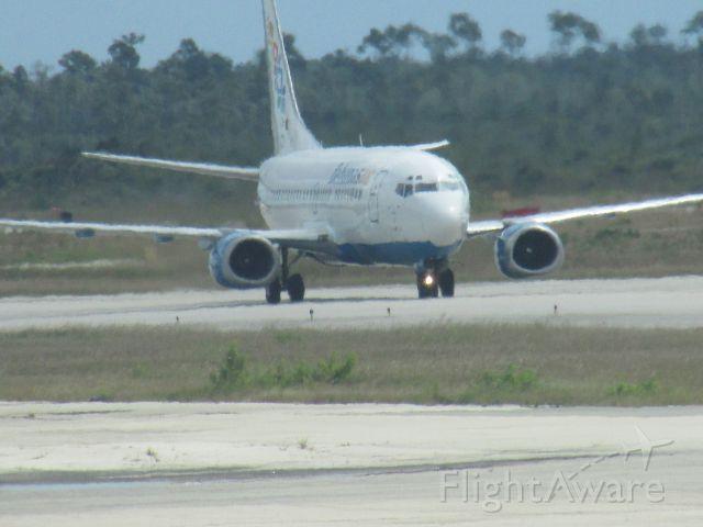Boeing 737-500 — - Bahamasair 737 taxiing at NAS