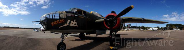 North American TB-25 Mitchell (N3476G) - Amelia Island