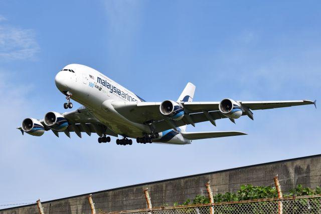 Airbus A380-800 (9M-MNF) - NRT16R↓