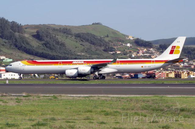Airbus A340-600 (EC-JLE) - TENERIFE NORTEbr /05/11/2010