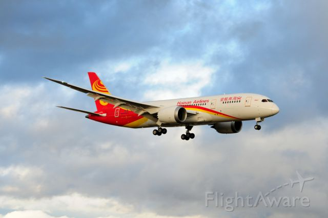 Boeing 787-8 (B-2728) - Hainan Airlines B-2728 Boeing 787 First Flight