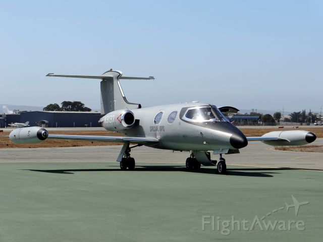 Learjet 24 (N3137) - Beautiful Aircraft at the 2012 Salinas Airshow.