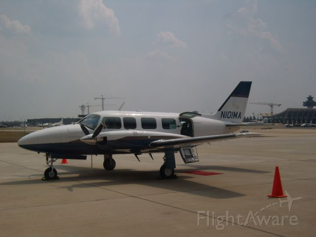 Piper Navajo (N101MA) - Based out of N43 Braden Airpark