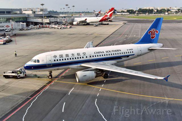 Airbus A319 (B-6409)