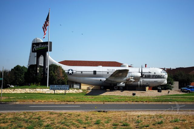 """53-0283 — - """"The Airplane Restaurant"""" in Colorado Springs, CO, built inside a retired KC-97"""