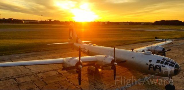 — — - FIFI at Martin State Airport at sunrise