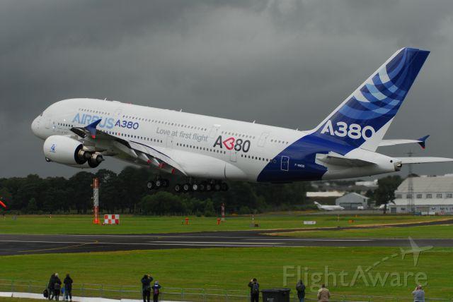 Airbus A380-800 (F-WWDD) - 2012 Farnborough Airshow