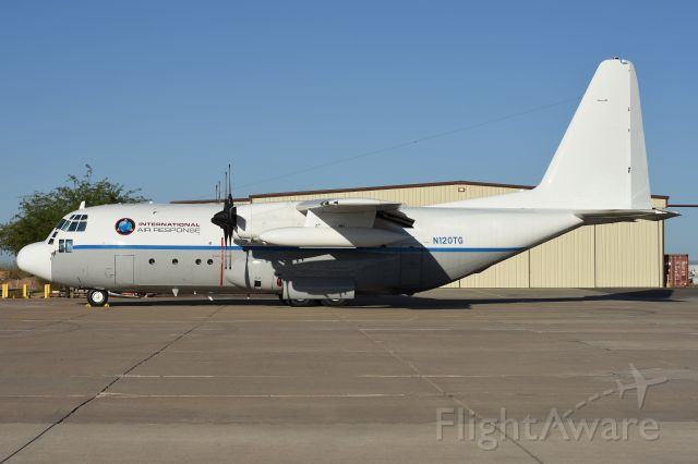 Lockheed C-130 Hercules (N120TG) - July 11th, 2016