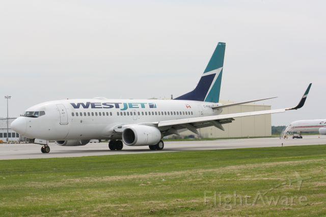 Boeing 737-700 (C-FIWJ) - Taken at CYHM
