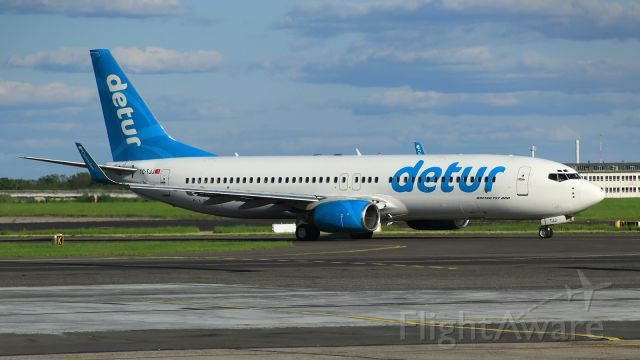 Boeing 737-800 (TC-TJJ) - operating for Detur - a German holiday agency