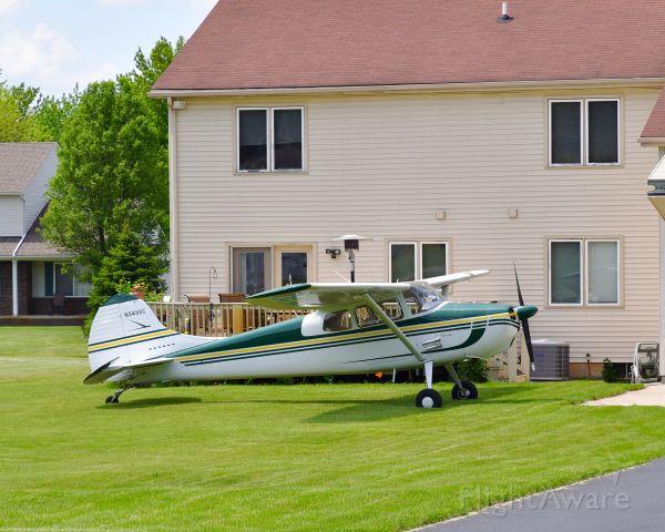 Cessna 170 (N3498C) - Cessna 170B N3498C in Brighton, MI