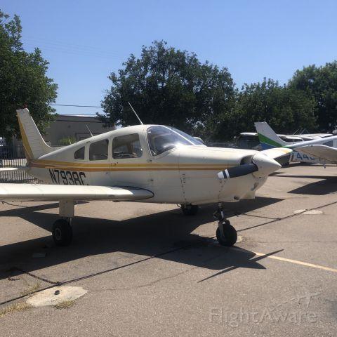 Piper Cherokee (N7938C) - N7938C sitting on the ramp at GSFC